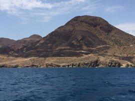 Una colilla, principal hipótesis del incendio de 30 hectáreas de Cabo de Gata