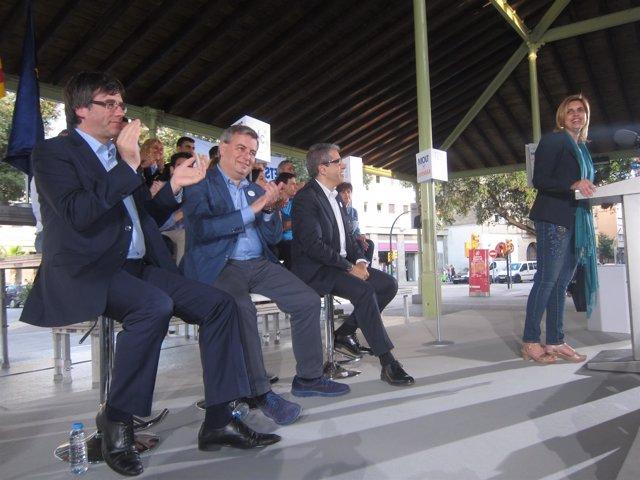 C.Puigdemon, J.Xuclà, F.Homs y M.Felip