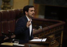 """Garzón se muestra """"escéptico"""" ante los primeros pasos de Sánchez, al que reprocha su """"ambigüedad"""""""