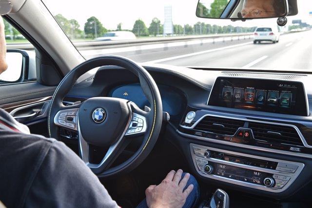 Conducción autónoma de BMW