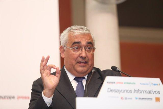 Antonio Ramírez de Arellano, en los Desayunos de Europa Press Andalucía