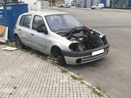 Asima pide a la Policía que retire los coches abandonados de los polígonos de Son Castelló y Can Valero