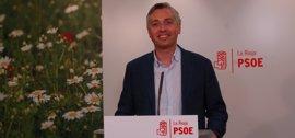 Francisco Ocón presenta su candidatura a la secretaría general del PSOE La Rioja