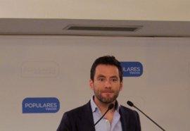 """PP critica que Urkullu haya """"regalado"""" a Puigdemont una foto que avala su """"delirio rupturista"""""""