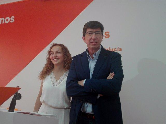 Juan Marín, hoy junto a Marta Rivera