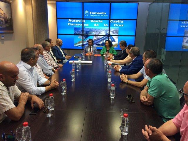 Reunión sobre Autovía Venta Cavila-Caravaca