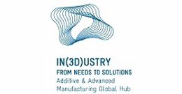 Logo 'In(3D)ustry From Needs to Solutions'