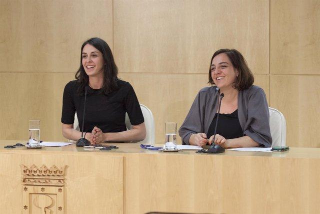 Rita Maestre y Celia Mayer