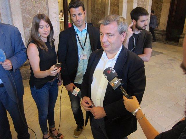 El Diputado Del Pdecat En El Congreso Jordi Xuclà