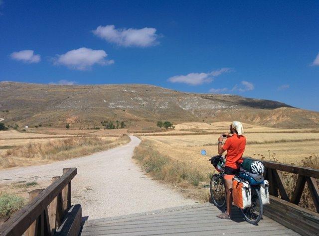 Peregrino del Camino de Santiago