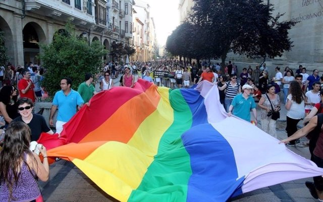 Bandera Orgullo LGTBI