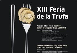 La Feria de la Trufa se lleva también a Logroño y continúa con las rutas teatralizadas