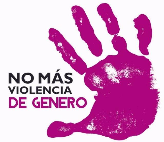 Cartel No más violencia de género