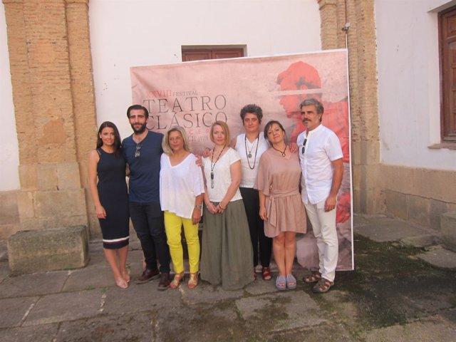 Parte de elenco de Don Juan Tenorio que se estrena en Cáceres