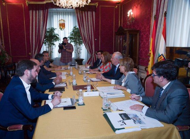 Reunión Plan de Desarrollo Industrial 2017-2020