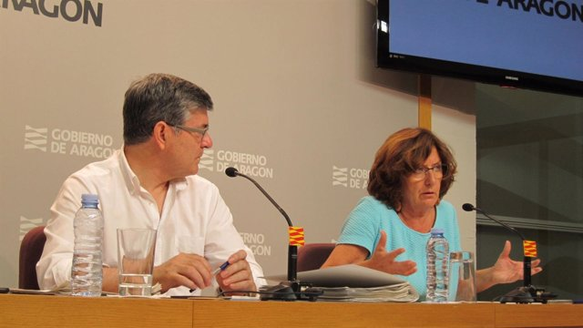 Rueda de prensa posterior al Consejo de Gobierno en Aragón