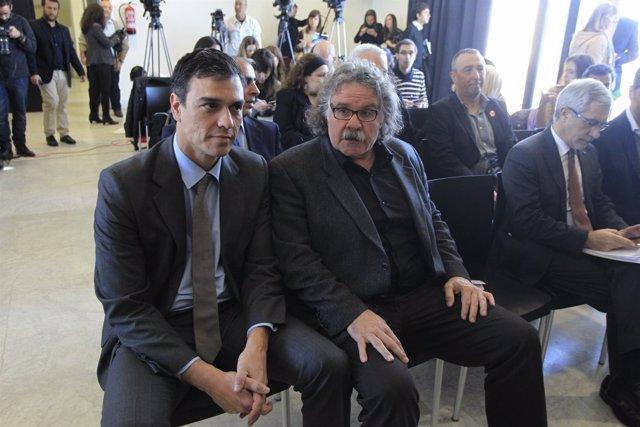 Pedro Sánchez y Joan Tarda