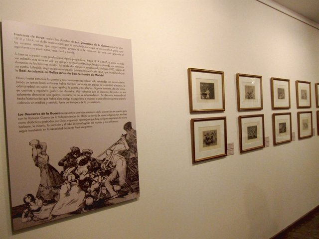 Imagen de la exposición 'Los desastres de Goya'