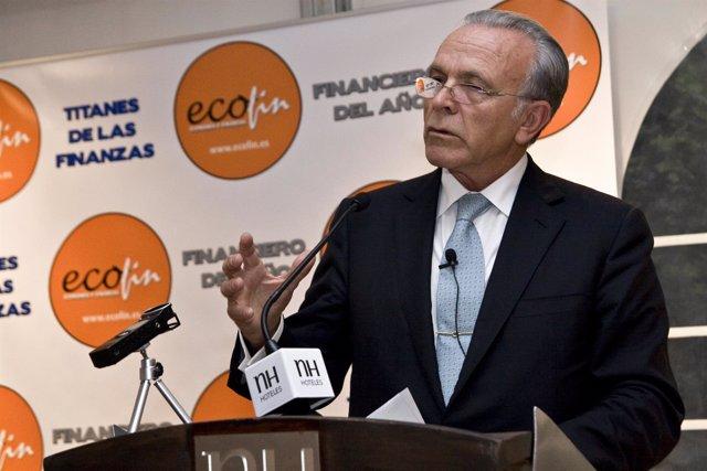 El presidente de la Fundación Bancaria 'la Caixa', Isidro Fainé