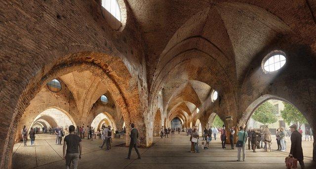 Diseño del proyecto de las Atarazanas.