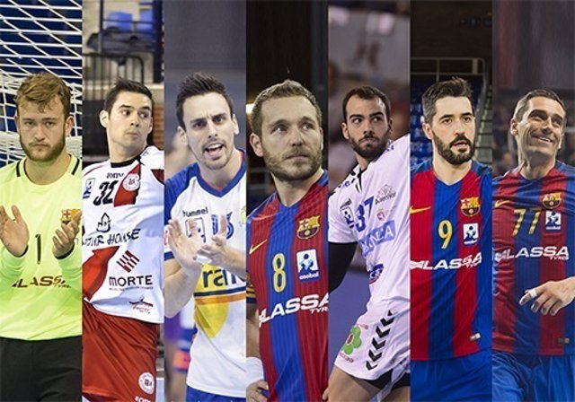 Equipo ideal de la Liga ASOBAL 2016/17