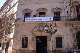 Cort y Consell de Mallorca muestran su apoyo a la acogida de refugiados