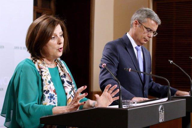 Sánchez Rubio comparece en la rueda posterior al Consejo de Gobierno
