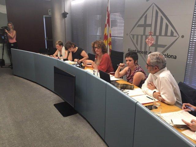 Comisión de Derechos Sociales de Barcelona de junio