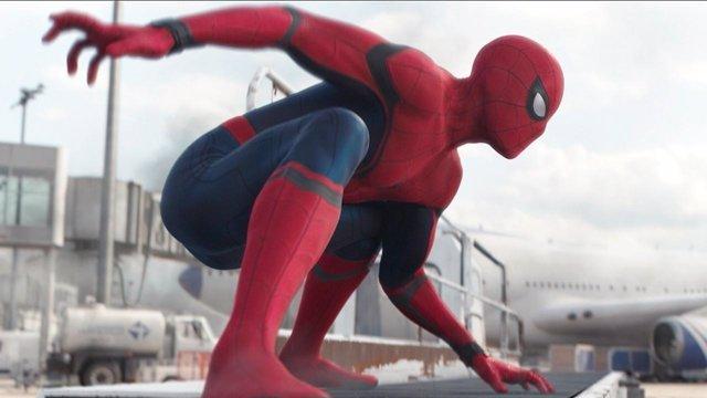 Spiderman en Capitán América: Civil War