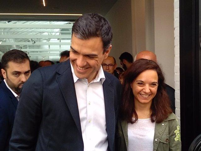 Sara Hernández y Pedro Sánchez