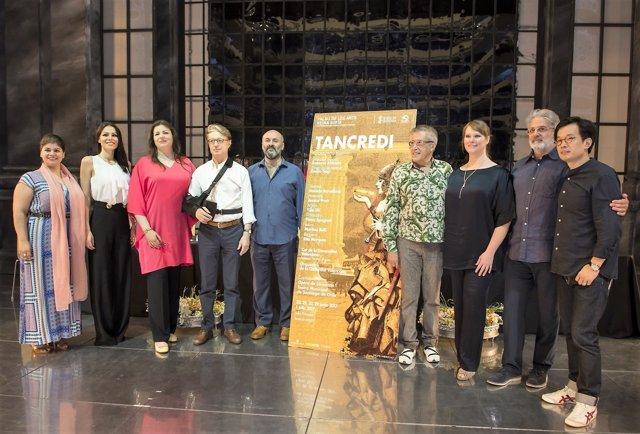 Presentación de 'Tancredi' en Les Arts