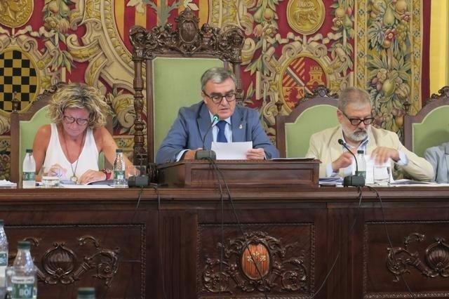 Àngel Ros, Montse Mínguez y Félix Larrosa