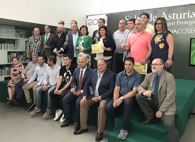 Integración de ocho nuevos lagares a la DOP Sidra de Asturias