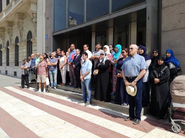 Ceuta guarda un minuto de silencio por el atropello en Londres
