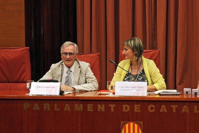 Xavier Trias, Alba Vergés, PDeCAT