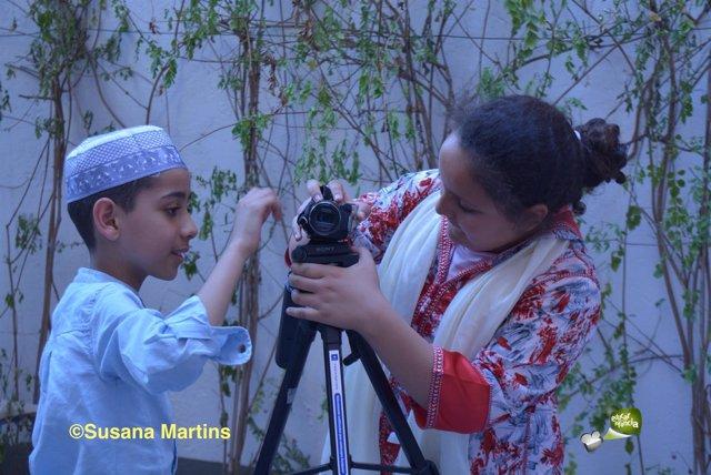 Ismael y Salma en el documental 'Salam Aleikum'
