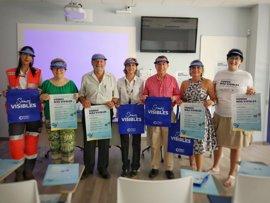 Ópticos-optometristas y voluntarios de Cruz Roja recorrerán las playas de la Región para concienciar sobre salud visual