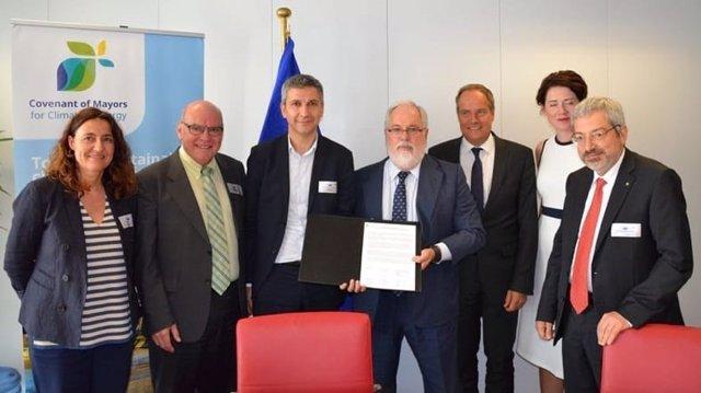 Encuentro del Consejo del Pacto de Alcaldes por el Clima y la Energía