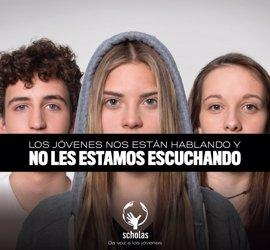 Scholas y Origen World Wide presentan al Papa una campaña para dar voz a los jóvenes del mundo