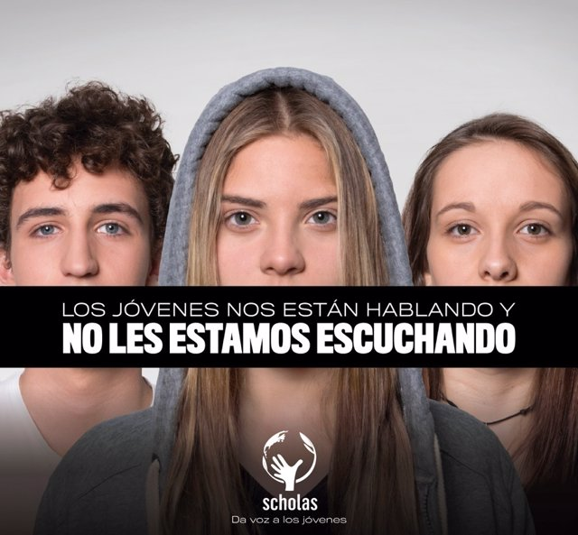 Camapaña de Scholas y Origen World Wide para dar voz a los jóvenes