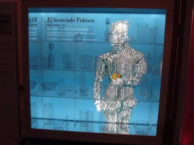 Exposición sobre Cervantes y sus personajes en el Museo de Zaragoza