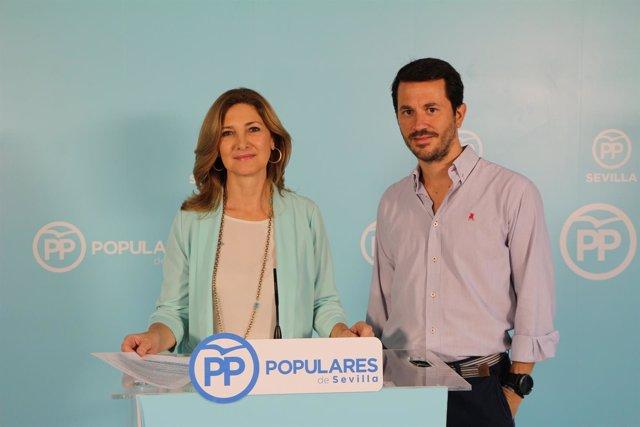 Alicia Martínez en rueda de prensa.