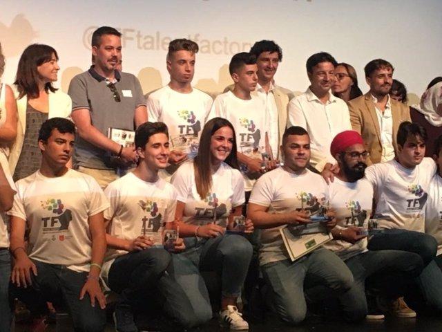 Entrega de los premios Talent Factory de Gavà y Viladecans