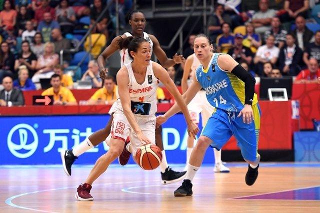 Selección femenina baloncesto España Ucrania Eurobasket