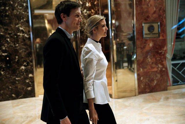 Ivanka Trump y su marido, Jared Kushner