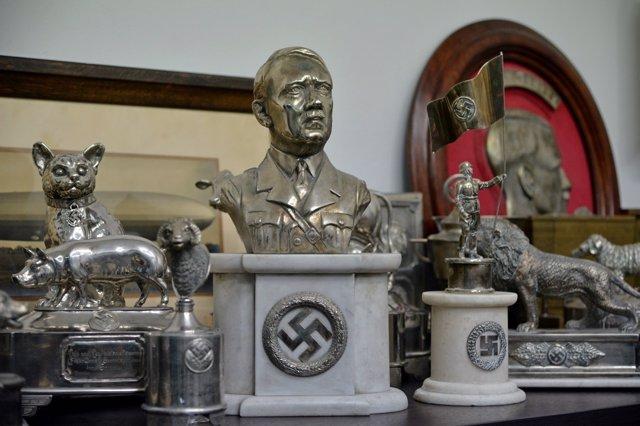 Reliquias nazis incautadas en Buenos Aires (Argentina)