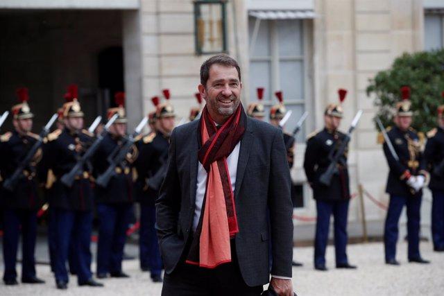 Christophe Castaner, portavoz del Gobierno de Francia
