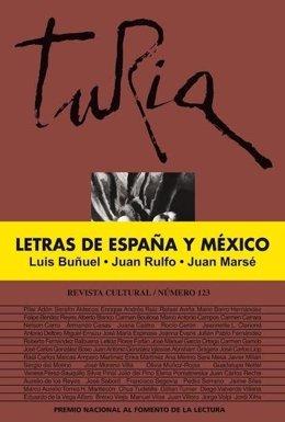 Portada de la revista 'Turia' dedicada a Buñuel