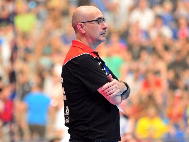 Jordi Ribera, seleccionador nacional de balonmano