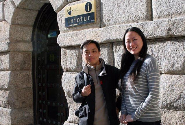 Turistas, chinos, ciudad de Toledo, turismo